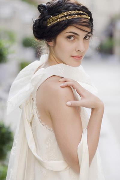 Греческая коса модная
