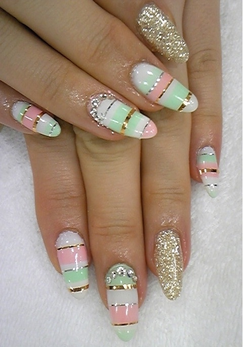 стильный дизайн ногтей фото:
