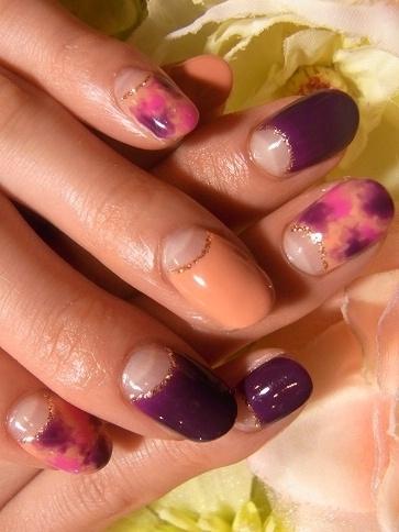 забавный дизайн ногтей: