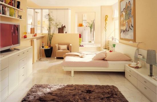 Идеи дизайна спальни в маленькой